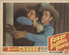 Fuzzy Settles Down 1944 Original Movie Poster Action Adventure Western