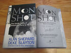 Astronaut ALAN SHEPARD signed MOON SHOT 94 Book MERCURY  GEMINI Projects KENNY