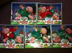CABBAGE PATCH KIDS GARDEN FAIRIES LOT OF 5: 3 WINTER HOLLY & 2 POINSETTIA