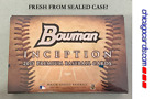 2015 Bowman Inception HOBBY Box 5 Auto Relic Logo Tag Book Patch Kris Bryant RC?