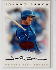 Johnny Damon 1996 Leaf Signatures Bronze Auto Card Rare Royals Red Sox Yankees