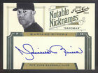 2012 Prime Cuts Notable Nicknames #19 Mariano Rivera On Card Autograph #37 49