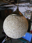 RETRO MID-CENTURY MOD LIGHT FIXTURE TEXTURED