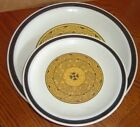AZTEC GOLD by DESIGNERS COLLECTION - Dinner Plate plus Salad Plate