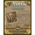 Emboss Decoetch Die Stamping Plate For Vintaj Sizzix Bigkick Big Shot