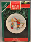 Hallmark - Let It Snow! - Collector's Plate - Classic Keepsake Ornament