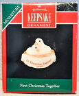 Hallmark - First Christmas Together 1990 Two Doves - Classic Miniature Ornament