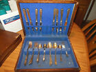 33 Pcs. International 1847 Rogers Bros. Silver Plate Flatware LEGACY 1928/ box