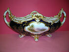 Antique English Coalport handpainted porcelain bowl [1895-1920]