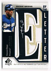 2006 SP Authentic By The Letter Rickie Weeks AUTO 66 200 Autograph Patch Brewers