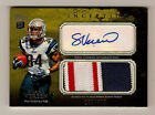SHANE VEREEN ROOKIE 2011 TOPPS INCEPTION AUTO 399 3 COLOR JERSEY SWATCH