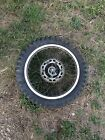OEM 1984-1985 Honda XL250R XL 250 R Rear Wheel and Tire 4.60-17 / 2.15x17