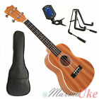 Mahogany Concert Ukulele with Cream Binding and Aquila Strings