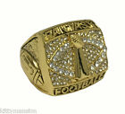 Fantasy Football Championship Ring Trophy - Gold Size 9