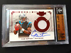 # 299 Cam Newton BGS 9.5 GEM MINT 2011 Plates and Patches Auto RC #201
