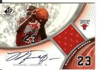 05 06 SP Game-Used Significant Numbers Michael Jordan Autograph Jersey #13 23