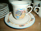 Lot of 6: Tienshan Stoneware PURRFECT FRIENDS Cups & Saucers Set