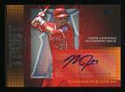 2013 Topps MIKE TROUT #CDA-MT Autograph Baseball Card Chasing The Dream