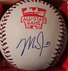 MIKE TROUT ANAHEIM ANGELS SIGNED 2014 ALL STAR BASEBALL WITH MLB HOLOGRAM MVP