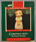 Hallmark - Christmas Kitty - 1st in Series - Fine Porcelain Ornament