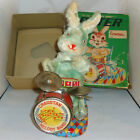 Cragstan #770 Peter The Jolly Drumming Bunny Battery Operated Alps Original Box