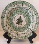 SPODE Christmas Tree Plate England 2000 In Celebration Of The Millennium