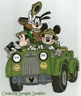 DISNEY SAFARI GANG in Jeep Printed Paper Piece for Scrapbook Pages SSFFDeb