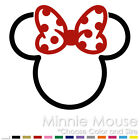 MINNIE MICKEY MOUSE TRIBAL TWO COLOR TATTOO DISNEY VINYL DECAL STICKER MM 10