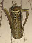 Vintage Portmeirion Totem Coffee Pot/ Tea Pot - Olive Green - 1960's Cool!