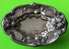 1904 Gorham Figural Mulberries Dish Bowl Sterling Silver 186 Grams Hand Chased