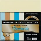 CoreDinations Textured Cardstock Paper Pack 12 x 12 in 20 Sheets BEACH SIDE BE