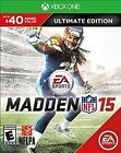 NEW SEALED $40 ADDED VALUE! Madden NFL 15: Ultimate Edition (XBOX ONE, 2014)