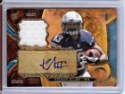 2013 Triple Threads Keenan Allen Autograph Rookie Jersey Relic Card 08 10