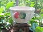 Fitz & Floyd~Radish~Vegetable Garden~Basket Bowl~2 Cup~1989~White