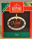 Hallmark Keepsake - Noel 1991 - Classic Miniature - Ornament