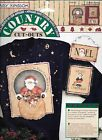 Daisy Kingdom  Country No-Sew Cut Outs/Appliques Country Santa