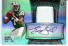 2013 Bowman Sterling Geno Smith Autograph Rookie Relic Prism Card 42 55