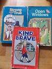 A Beka Abeka 1st Gr Readers Kind  Brave Strong  True Open Windows 3 Older