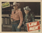 Law Men 1944 Original Movie Poster Western