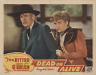 Dead or Alive 1944 Original Movie Poster Western