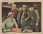 Partners of The Trail 1944 Original Movie Poster Action Adventure Romance