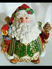 FITZ FLOYD JOLLY OLE ST NICK Large COOKIE JAR/CENTERPIECE christmas collectable
