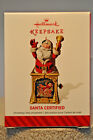 Hallmark - Santa Certified - Santa Jack-in-the-Box - Keepsake Ornament