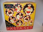 Certified International Bistro Chefs 10 Pc. Pasta Ceramic Bowl Set