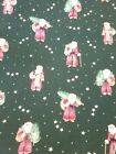 Old Fashioned St. Nick Santa Christmas Cotton Fabric - 3+ yards - 44