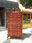 Fantastic Mahogany Ball & Claw Chippendale Chest On Chest 19th Century
