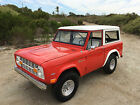 Ford  Bronco 2 Door With Removable Top 1968 ford bronco 4 x 4 no reserve