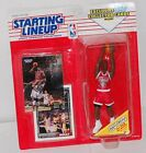 1993:SLU Starting Lineup Michael Jordan Figure MOC Chicago Bulls Kenner NBA New