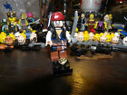 Lego Loose Mini figures - created from box of Misc Legos - Cpt Jack Sparrow