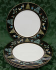 4 1978 Fitz & Floyd Japan Chinoiserie China 10-1/4 Inch Dinner Plates